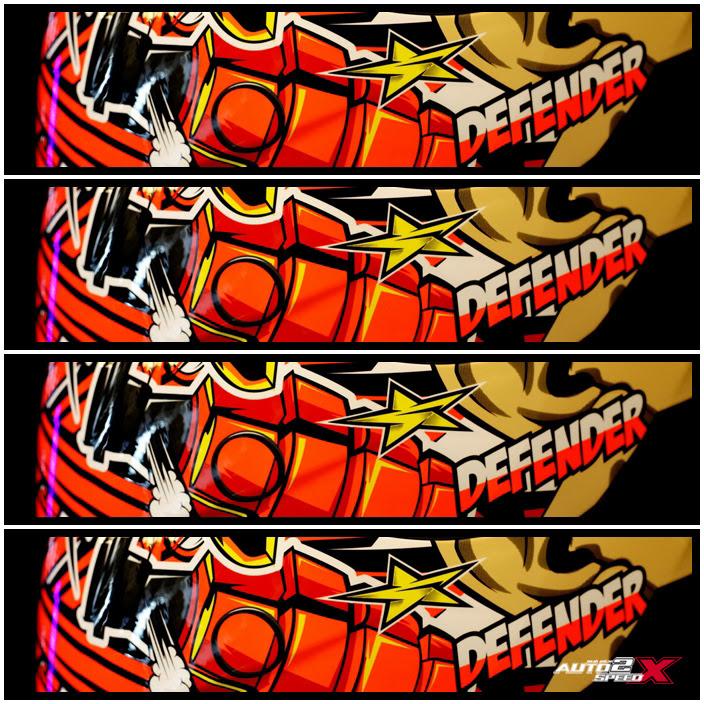หมวกกันน็อค Bilmola Defender ลาย Fighter 2015 ล็อตใหม่แถมชิลด์ !!