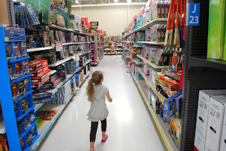 Photo: Searching for more toys to put on the birthday list!