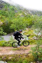 Photo: Pelle Riksgränsen- Rallarvägen på väg in i Norddalen