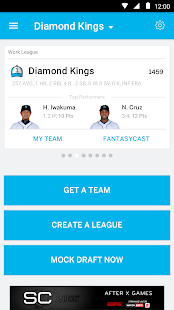 ESPN Fantasy Baseball Screenshot 1
