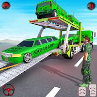 US Army Limo Transporter Truck Simulator