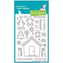 Lawn Fawn Clear Stamps 4X6 - Sweet Christmas