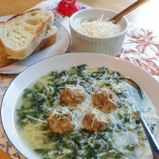 Easy Italian Wedding Soup.