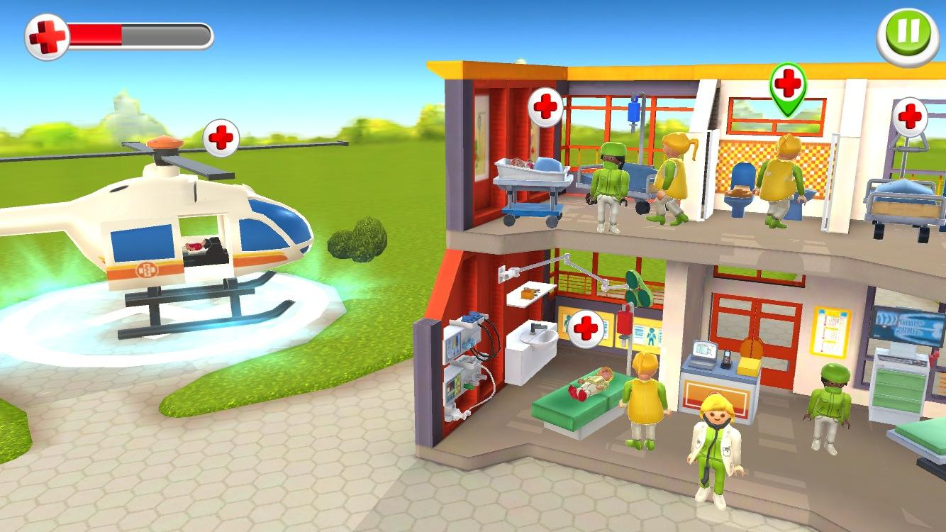 Playmobil children 39 s hospital android apps on google play - Table de jeu playmobil ...