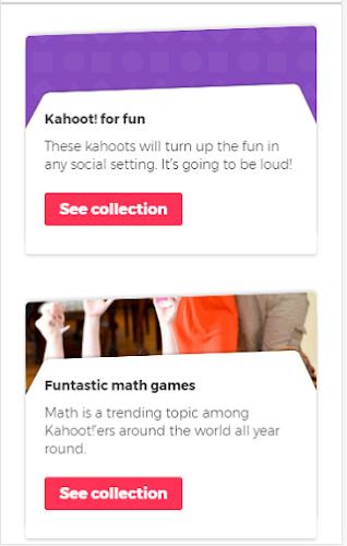 Kahoot Explore Games