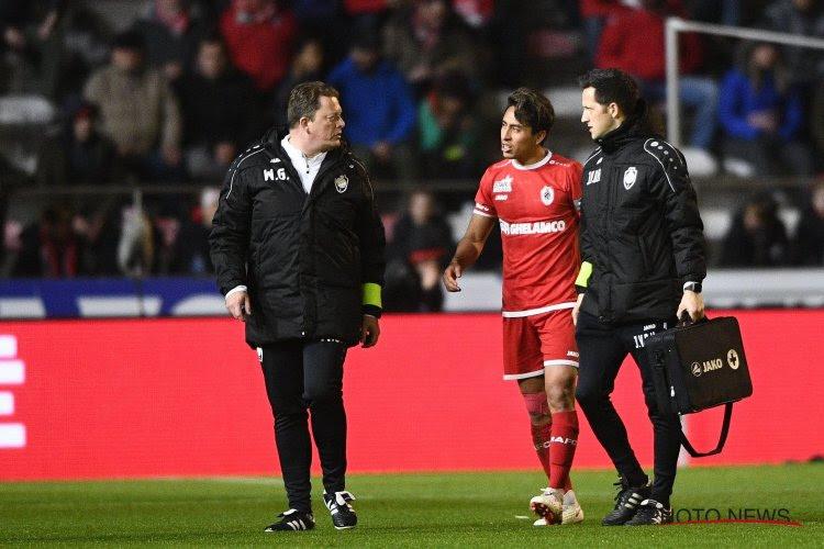 Bovenop thuisnederlaag tegen STVV verliest Antwerp ook nog eens twee spelers met blessures