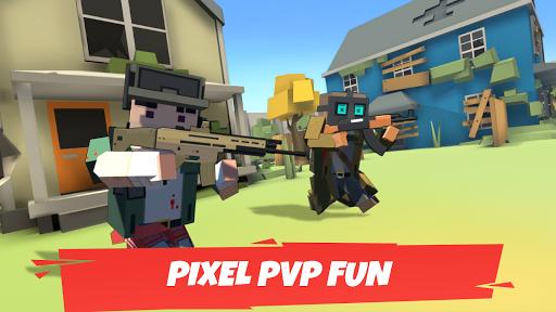 Battle Gun 3D - Pixel Block Fight Online PVP FPS screenshots 3