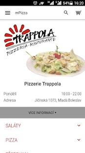 Pizzerie Trappola Ml.Boleslav- screenshot thumbnail