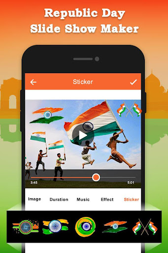 Republic Day Slideshow Maker - 26 Jan Movie Maker 1.0 screenshots 5