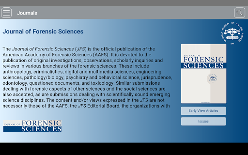 Download Journal Of Forensic Sciences Free For Android Journal Of Forensic Sciences Apk Download Steprimo Com