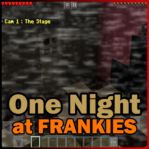 One Night at Frankie's Map Minecraft PE Horror