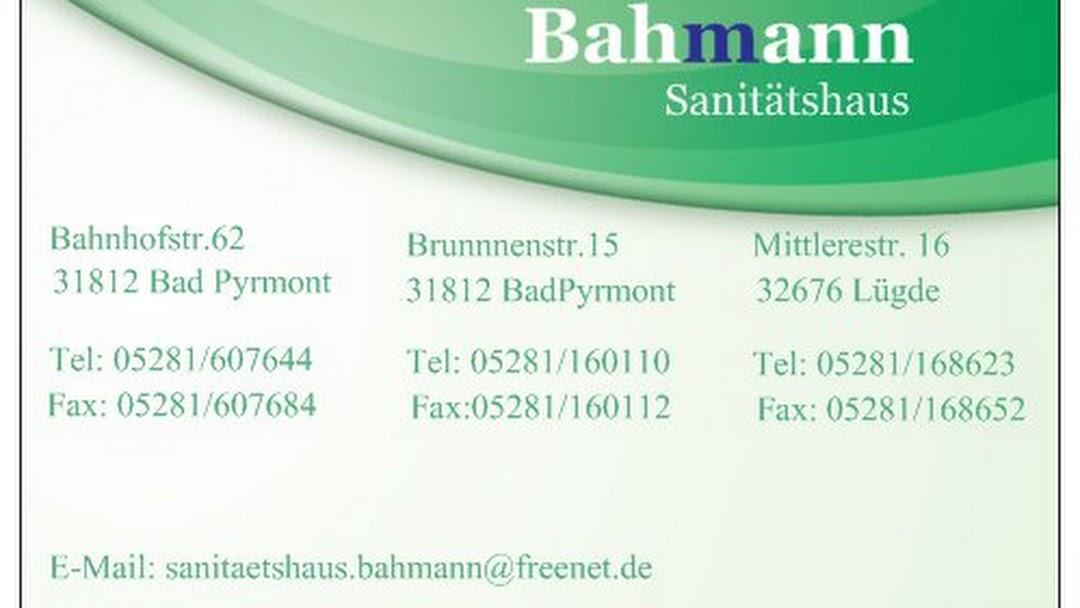Sanitätshaus Bahmann - Sanitätshaus in Bad Pyrmont