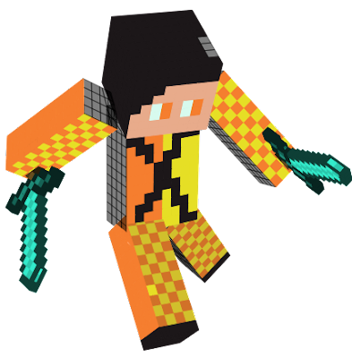 he is yellow an any one can be him in minecraft