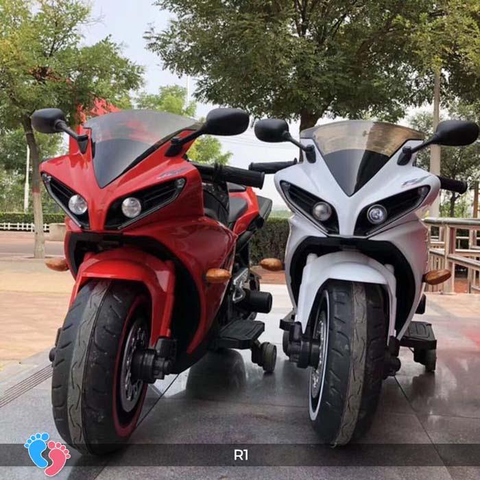 Xe mô tô điện thể thao cho trẻ R1 5