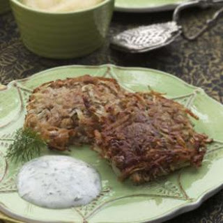 Crispy Potato Latkes.
