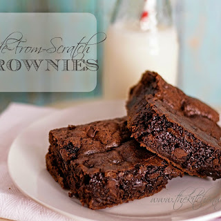 Made-From-Scratch Brownies.