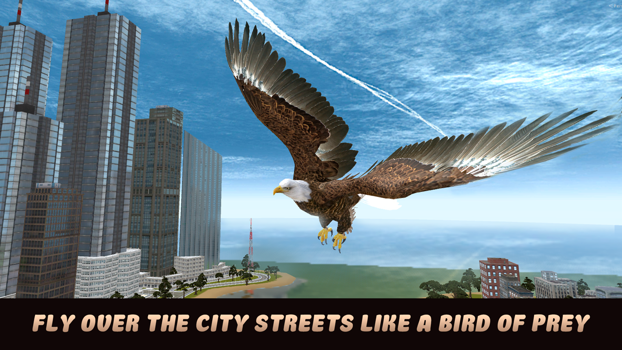 City Bird Eagle Simulator 3d Android Apps On Google Play