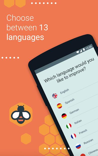 Beelinguapp: Learn Languages Music & Audiobooks Android App Screenshot