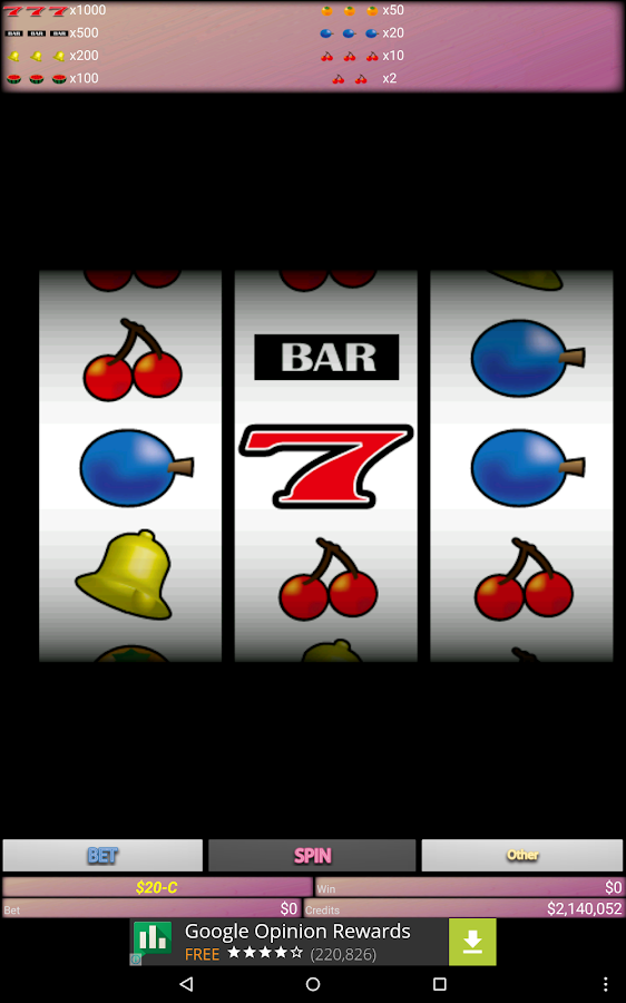 Slot Machine- screenshot