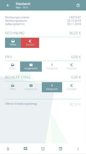 KuBA Privatrechnungsassistent screenshot 3
