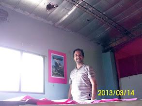 Photo: Director de animación: VÍCTOR DARÍO LEALI. © Copyright LA TIERRA HABLA, año 2010. IVONNE LUCIA JUAN SANTANA.