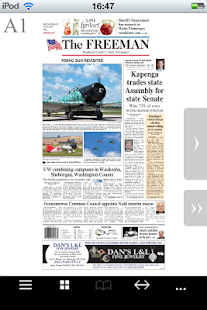 Waukesha Freeman- screenshot thumbnail