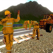 Express Train Railway Track Construction Sim 2017