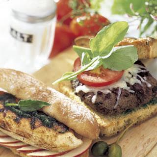 Napa Valley Cabernet Burgers
