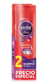 $Oft  Shampoo Sedal Keratina X 340 Ml X 2 Und Precio Especia