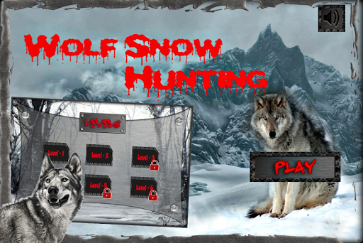 Wolf Snow Hunting