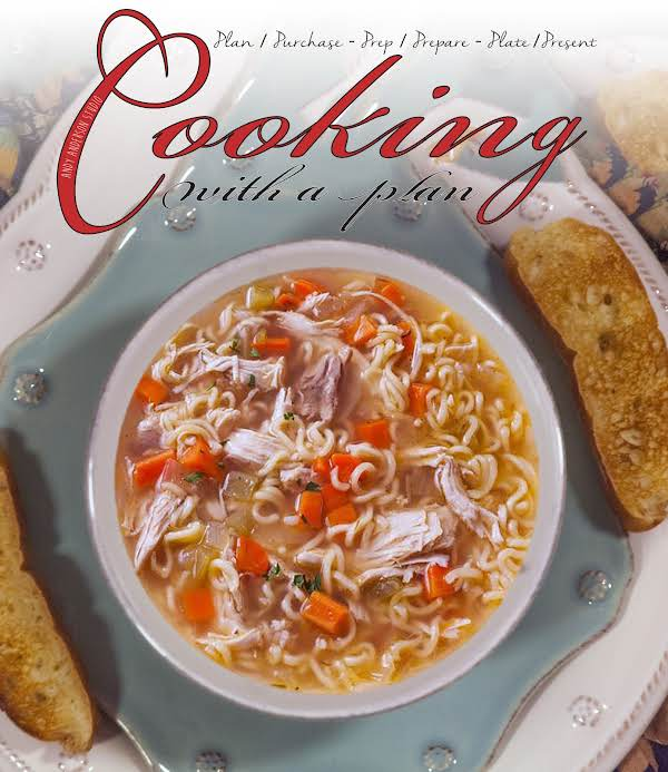 Savory Pan Fried Chicken Soup, With A Kick Recipe