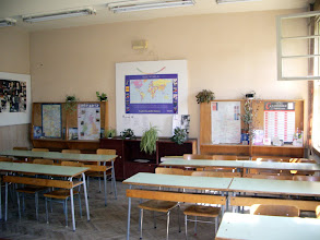 Photo: The English classroom!