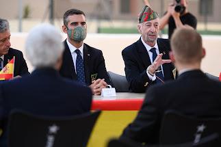 Fernández-Pacheco ha acudido al acto de inauguración.