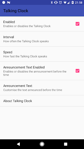 Talking Clock v1.2.0 (Paid)