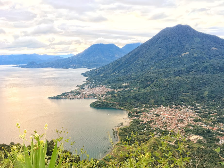 Sunrise view from Indian Nose, Lake Atitlan
