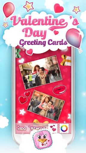 발렌타인a데이인사말 카드