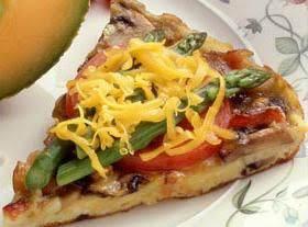 Tomato And Asparagus Frittata Recipe