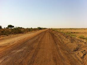Photo: Contruction road