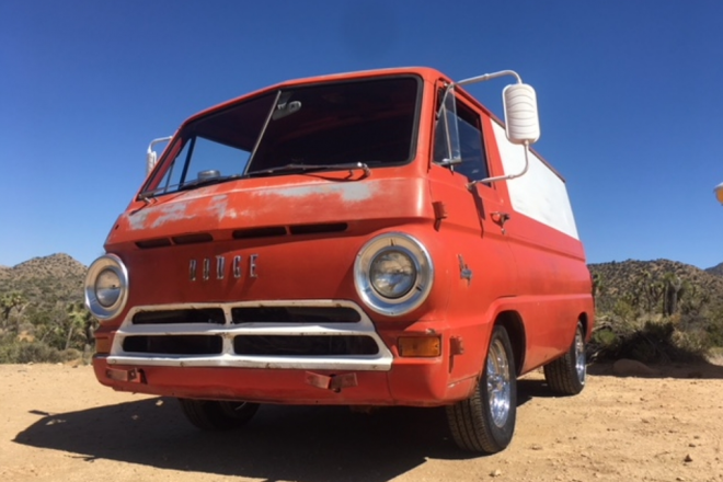 1966 Dodge Van Hire CA