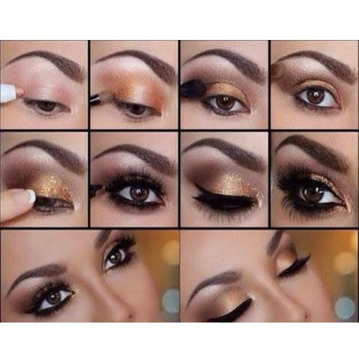 Tutorial make up woman