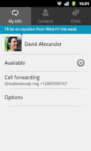 Lync 2010 Screenshot