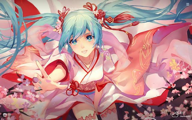 Hatsune Miku Hd Wallpapers New Tab Theme