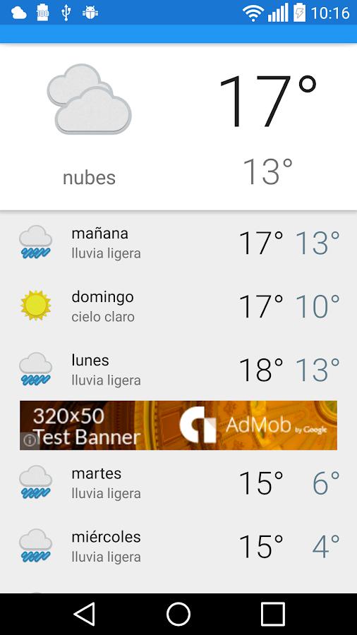 Bilbao el tiempo android apps on google play - Temperatura actual bilbao ...