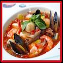 طبخ و وصفات المأكولات البحرية icon
