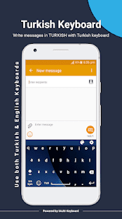 App Turkish keyboard:Turkish keypad 2019 APK for Windows Phone