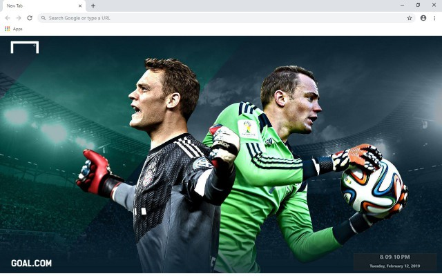 Manuel Neuer New Tab & Wallpapers Collection