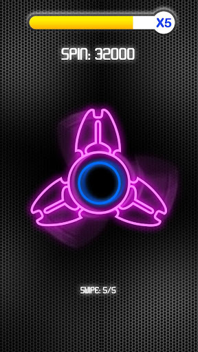 Fidget Spinner Neon screenshot 3