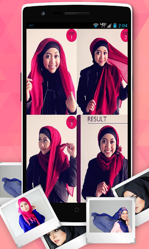 Hijab Styles Step By Step 2015