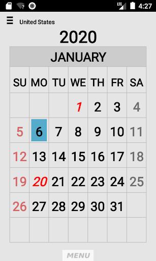 Wallet Calendar screenshots 4