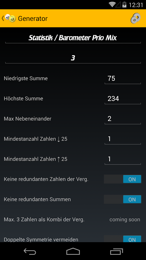 LottoStats- screenshot